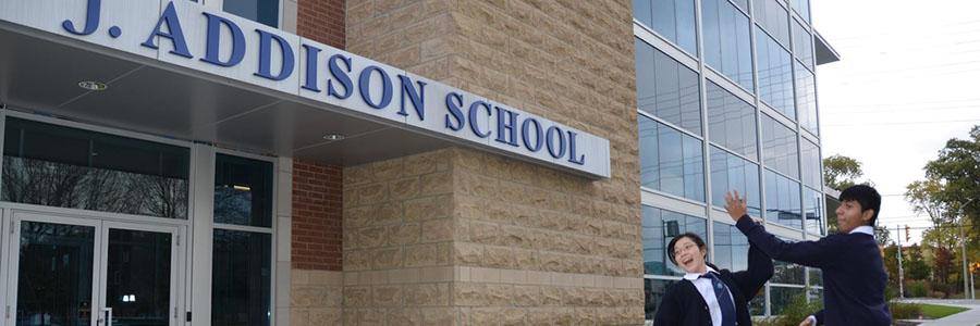 J.Addison高中